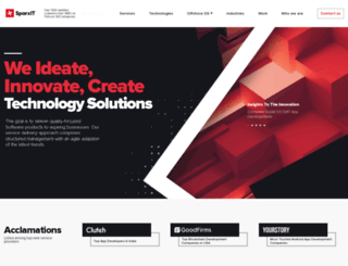 sparxitsolutions.com screenshot