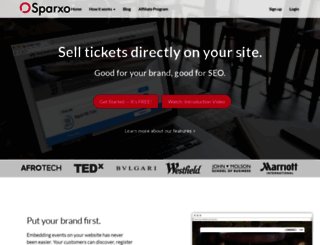 sparxo.com screenshot