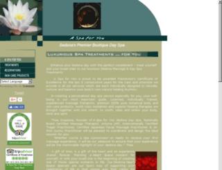 spas-sedona.net screenshot