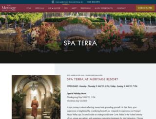 spaterra.com screenshot