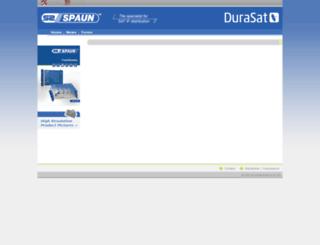 spaun.de screenshot