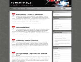 spawanie-24.pl screenshot