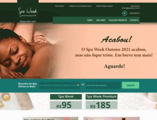 spaweek.com.br screenshot