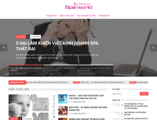 spaworld.vn screenshot