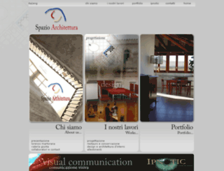 spazioarchitettura.com screenshot