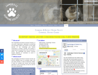 spca.cambridgeweb.net screenshot