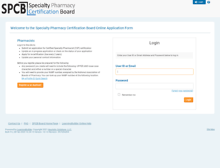 spcb.learningbuilder.com screenshot