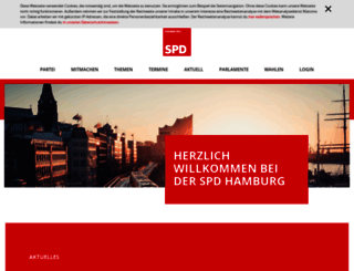 spd-hamburg.de screenshot