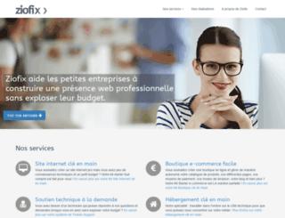 spdev.ziodev.fr screenshot