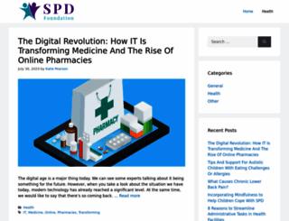 spdfoundation.net screenshot