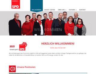 spdschenefeld.com screenshot