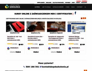 spdszkolenia.pl screenshot