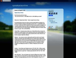 speak-asia.blogspot.com screenshot