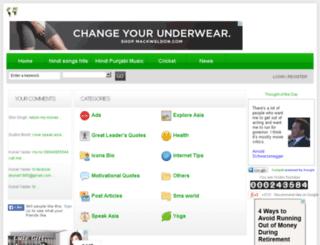speakasianews.net screenshot