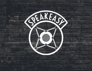speakeasysymposium.splashthat.com screenshot