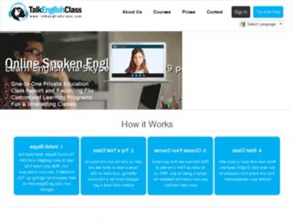 speakenglishlesson.com screenshot
