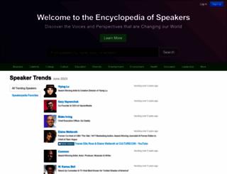 speakerpedia.com screenshot