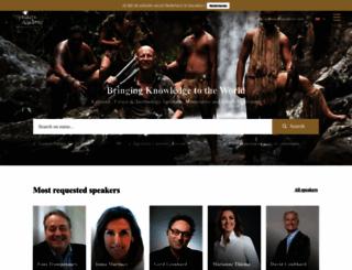 speakersacademy.com screenshot