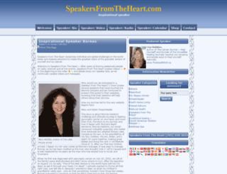 speakersfromtheheart.com screenshot