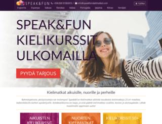 speakfun-kielimatkat.com screenshot