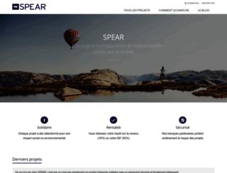 spear.fr screenshot