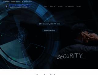 spearsecuritydenver.com screenshot