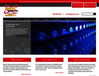 specair.com screenshot