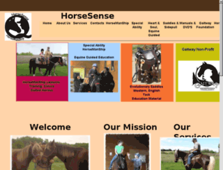 special-ability-horsemanship.info screenshot