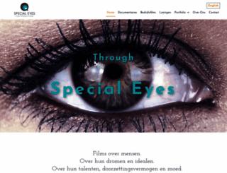 special-eyes.nl screenshot