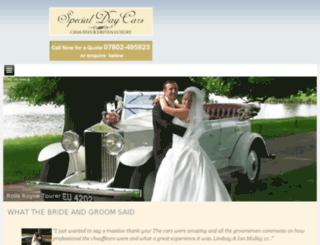 specialdaycars.com screenshot