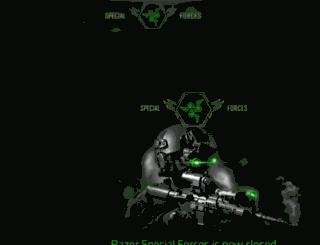 specialforces.razerzone.com screenshot