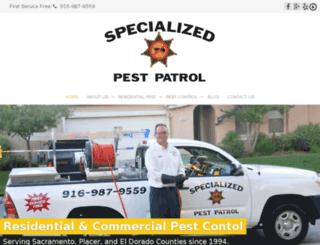 specializedpestroseville.com screenshot