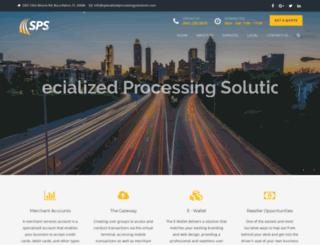 specializedprocessingsolutions.com screenshot