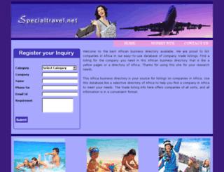 specialtravel.net screenshot
