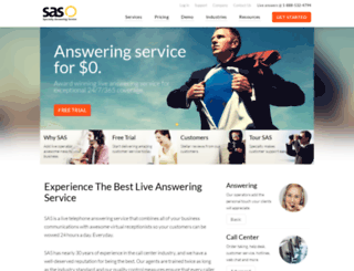 specialtyansweringservice.net screenshot