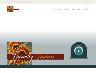 specialtygardens.us screenshot