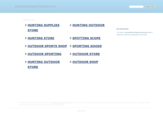 specialtyshootingsportsoutdoors.com screenshot