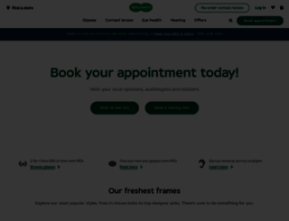 specsavers.ie screenshot