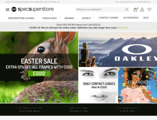 specsuperstore.com screenshot