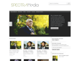 spectramedia2014.wordpress.com screenshot