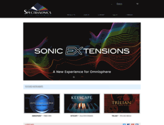 spectrasonics.net screenshot