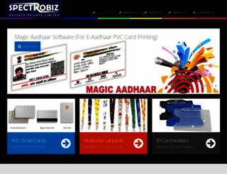 spectrobiz.com screenshot