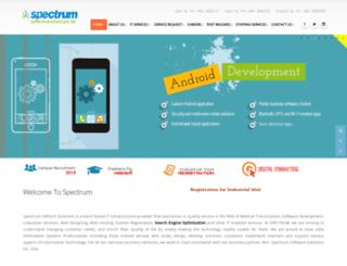 spectrum.in screenshot