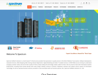 spectrum.net.in screenshot