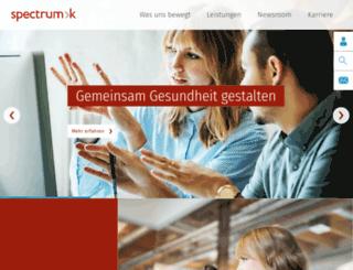 spectrumk.de screenshot