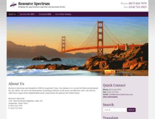 spectrumm.com screenshot