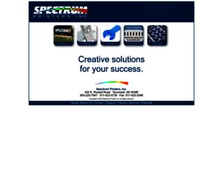 spectrumprinters.com screenshot