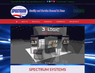 spectrumsystems.us screenshot