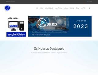 sped.pt screenshot