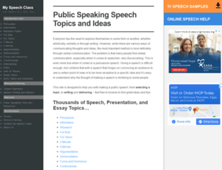 speech-topics-help.com screenshot